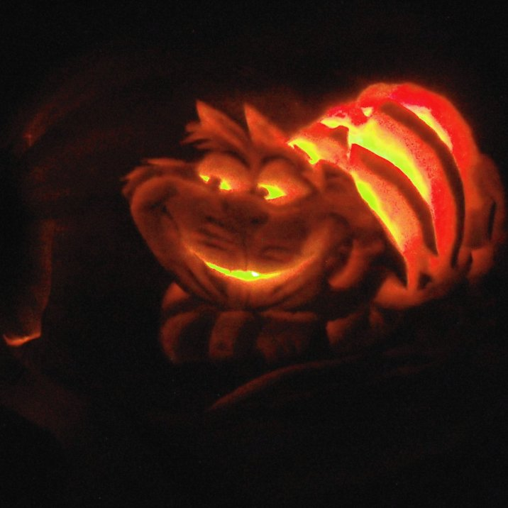 cheshirecat pumpkin